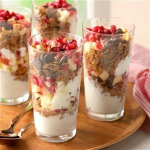 Coconut-Granola Yogurt Parfaits Recipe