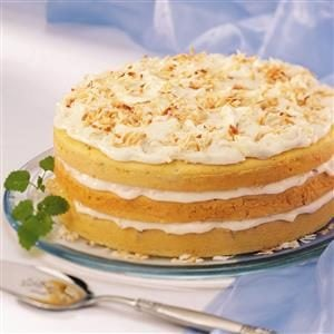 Coconut Supreme Torte Recipe