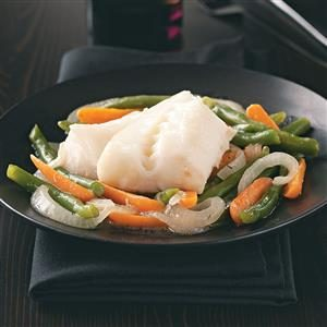 Cod & Vegetable Skillet Recipe