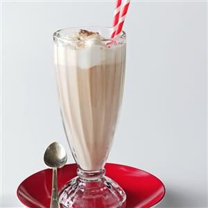 Coffee Almond Floats Recipe