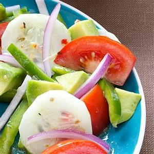 Colorful Avocado Salad Recipe