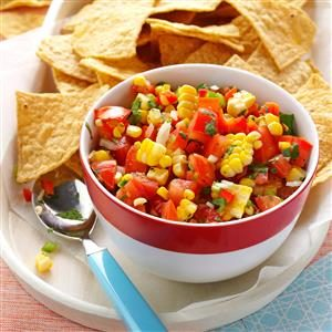 Colorful Corn Salsa Recipe
