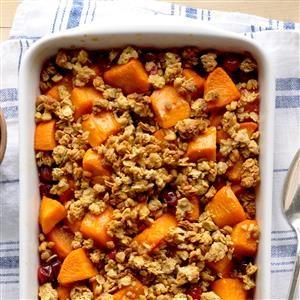 Colorful Cranberry Sweet Potato Bake Recipe