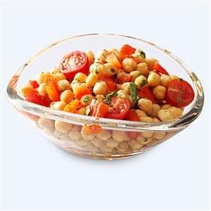 Colorful Garbanzo Bean Salad Recipe