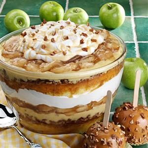 Colossal Caramel Apple Trifle Recipe