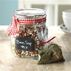 Confetti Bean Soup Mix Recipe