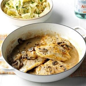Contest-Winning Chicken with Mushroom Sauce Recipe