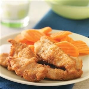 Contest-Winning Crispy Chicken Fingers