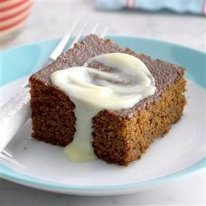Contest-Winning Gingerbread with Lemon Sauce Recipe
