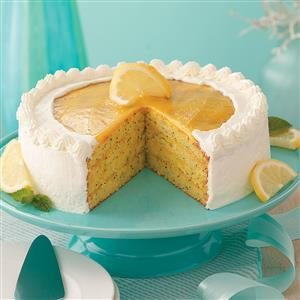 Contest-Winning Lemon Poppy Seed Cake Recipe