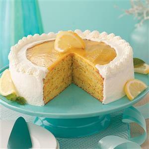 Contest-Winning Lemon Poppy Seed Cake Recipe