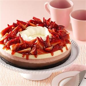 Contest-Winning Neapolitan Cheesecake Recipe