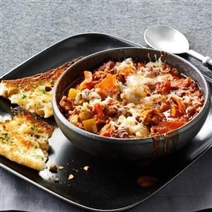 Contest-Winning Pepperoni Pizza Chili Recipe