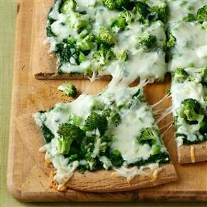 Contest-Winning Pesto Veggie Pizza Recipe