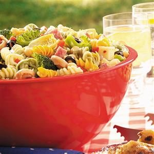 Watch Us Make: Contest-Winning Picnic Pasta Salad