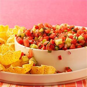 Contest-Winning Watermelon Salsa Recipe