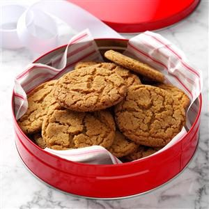 Cookie Jar Gingersnaps Recipe