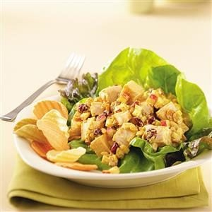 Cool Curried Chicken Salad