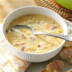 Corn Chowder with Potatoes Recipe