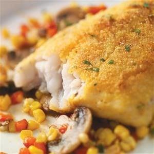 Cornmeal-Crusted Walleye Recipe