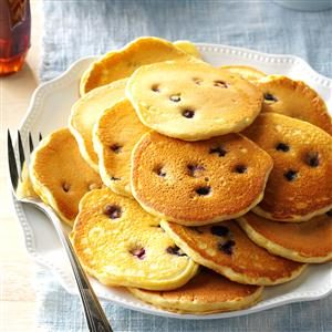Cornmeal Pancakes Recipe