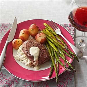 Crab & Herb Cheese Filet Mignon Recipe