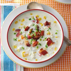 Crab Corn Chowder Recipe