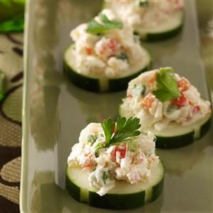 Crab Cucumber Bites Recipe