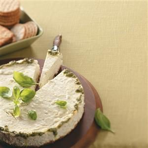 Crab Pesto Cheesecake Recipe