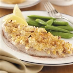 Crab-Topped Fish Fillets Recipe