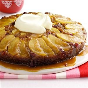 Cran-Apple Praline Gingerbread Recipe
