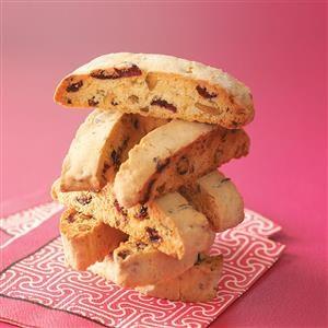 Cranberry & Pistachio Biscotti Recipe