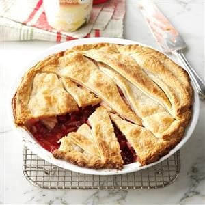 Cranberry Apple-Nut Pie Recipe