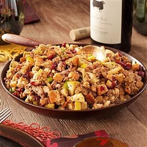 Cranberry Apple Stuffing Recipe