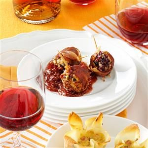 Cranberry Chevre Lollipops Recipe