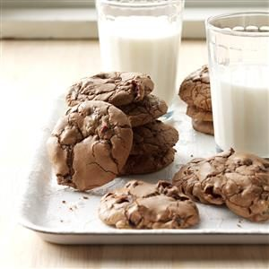 Cranberry Chocolate Cookies with a Kick