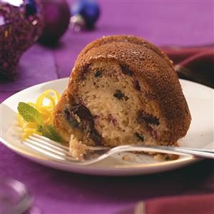 Cranberry Crunch Coffee Cake Recipe