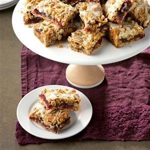 Cranberry Date Bars Recipe