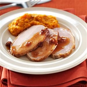 Cranberry-Dijon Pork Roast