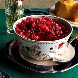 Cranberry Fruit Relish Recipe