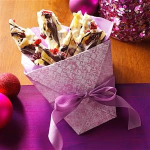 Cranberry Ginger Bark Recipe
