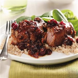 Cranberry-Ginger Pork Ribs Recipe