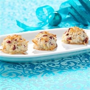 Cranberry Lime Macaroons Recipe