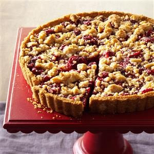 Cranberry-Orange Crumb Tart Recipe