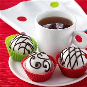 Cranberry Orange Truffles Recipe