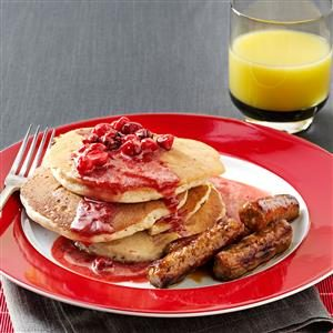 Cranberry Pancakes Recipe