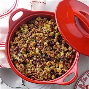 Cranberry Pear Stuffing