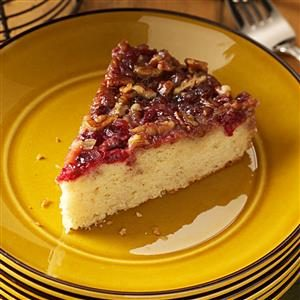 Cranberry-Pecan Coffee Cake Recipe