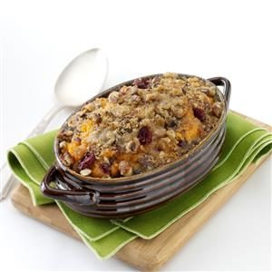 Cranberry-Pecan Sweet Potato Casserole Recipe
