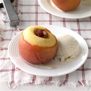 Cranberry Stuffed Apples Recipe